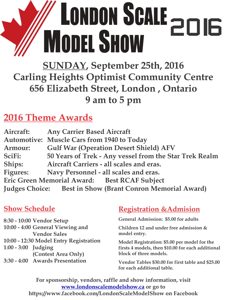 2016 ScaleModelShow Flyer 2